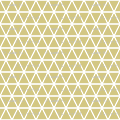tangled triangles // gold