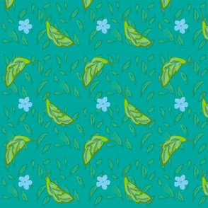 blossom-leaves-teal