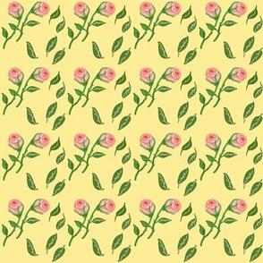 summer roses yellow