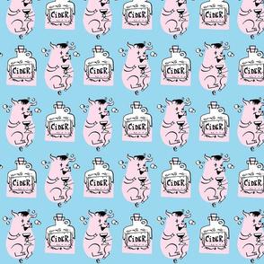 Pink Drinky Pig