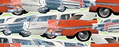 Dean's Parking Lot ~ Circa 1960