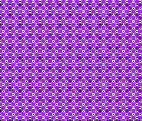 Bats on purple- small fabric by shala on Spoonflower - custom fabric