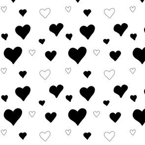 Hearts Black