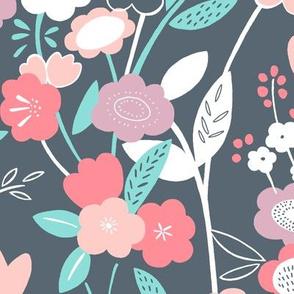 Wonderland Floral (Rose Quartz)
