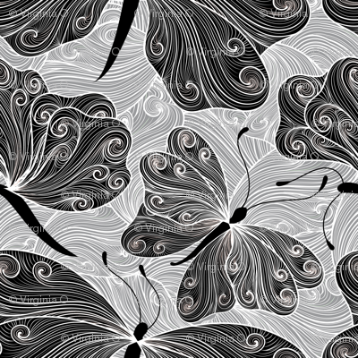 black tie butterflies
