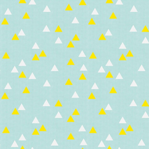 Triangles on Limpet Blue