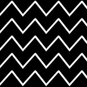 Chevron - Black & White basic