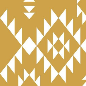 Navajo - Gold White (vertical)