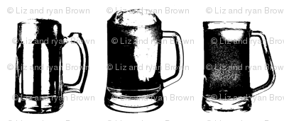 Beer Mugs // Large