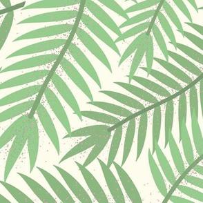 Medium Vintage Florida Palm Branches
