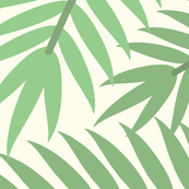 SPECIAL EDIT - Large Vintage Florida Palm Branches