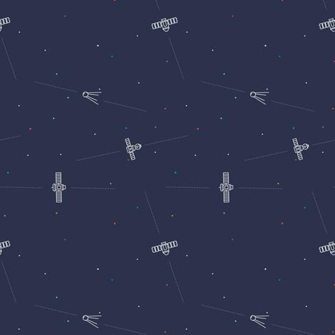 Satellites   fabric by jackelope on Spoonflower - custom fabric