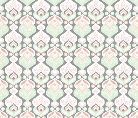 wedding2-grey fabric by gaiamarfurt on Spoonflower - custom fabric