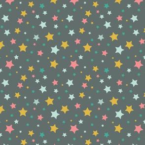 Stars, black