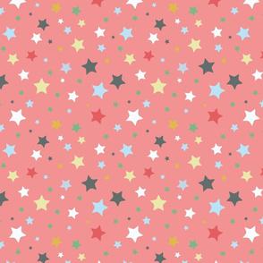 Stars, red