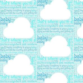 Hi Ho Silver Lining Lyrics - Blue