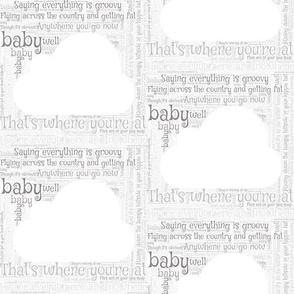 Hi Ho Silver Lining - Grey