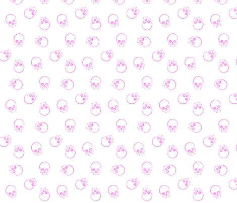 Silly_Skulls fabric by lizkellyzook on Spoonflower - custom fabric
