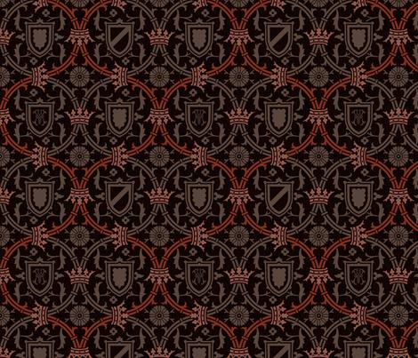 Royal Serpentine 880i fabric by muhlenkott on Spoonflower - custom fabric
