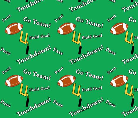 Football Terms fabric by flamincatdesigns on Spoonflower - custom fabric
