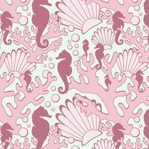 Pink Seahorse Garden