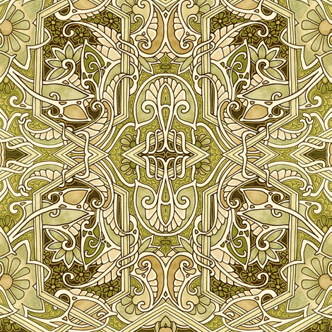 When the Paisley Get Ripe fabric by edsel2084 on Spoonflower - custom fabric