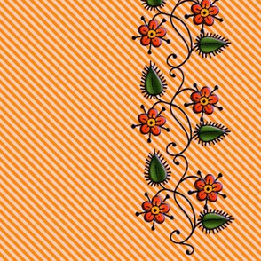 Clematis_Strips_Orange