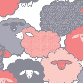 Sheep Society (Rose Quartz)