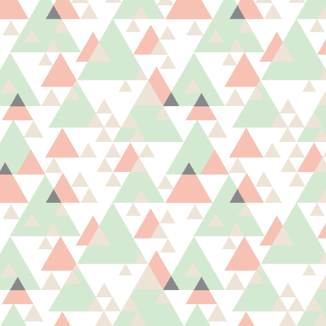 Modern Geometric fabric by alyssa_scott on Spoonflower - custom fabric