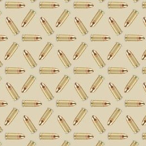 9mm Rounds on Tan