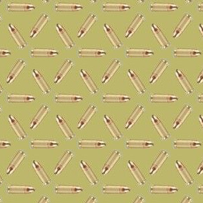 9mm Rouds on Khaki