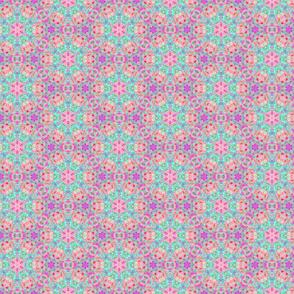 girly dolly flower pattern