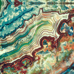Colorful agate swirls