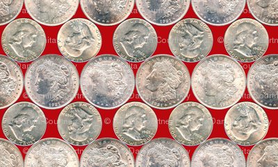 Dean's Silver Dollars and Halves