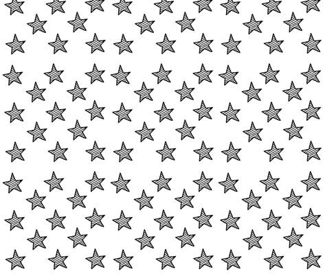striped_stars fabric by lilcleo on Spoonflower - custom fabric
