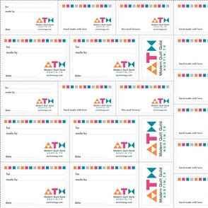 AMQG quilt labels
