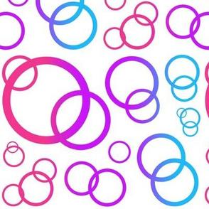 Rainbow Geometric Circle Abstract