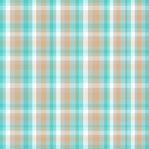 Tealicious Plaid