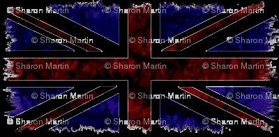 Distressed Union Jack Flag