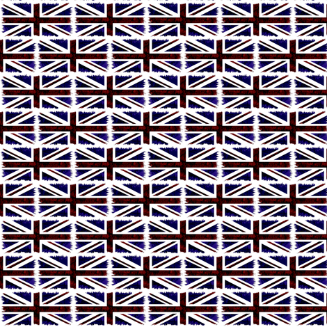 Distressed Union Jack Flag fabric by flutterbi on Spoonflower - custom fabric