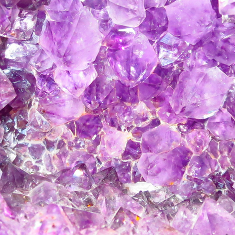 Amethyst Crystal Delight 2 fabric by dovetail_designs on Spoonflower - custom fabric