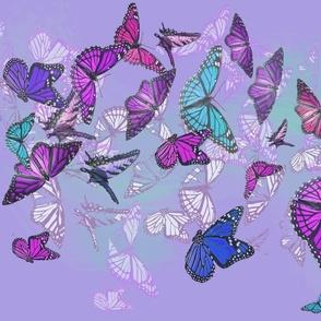 Fluttering Butterflies
