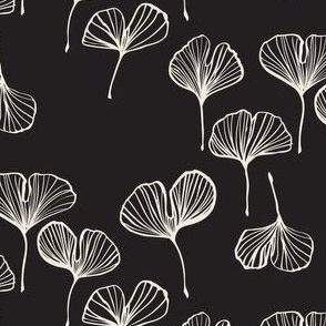 Chinoiserie Chic Ginkgo Black