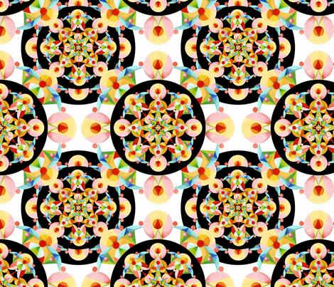 Groovy Carousel fabric by patriciasheadesigns on Spoonflower - custom fabric