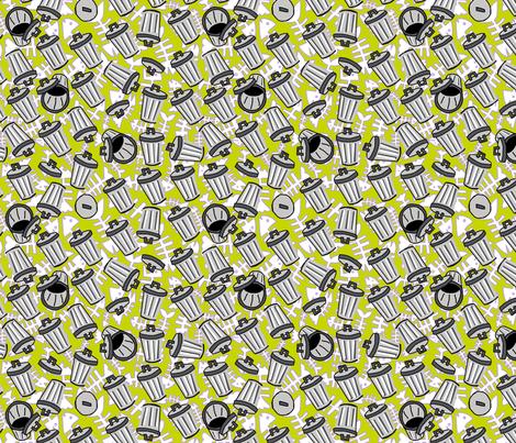 trash day #4 fabric by kheckart on Spoonflower - custom fabric