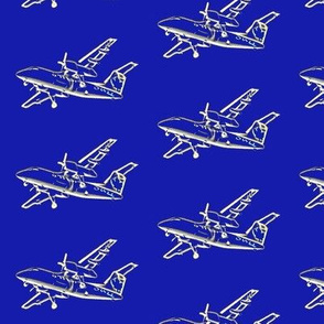 planes - royal blue-small