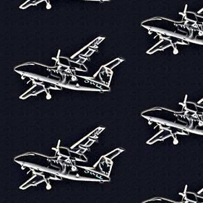 plane - black