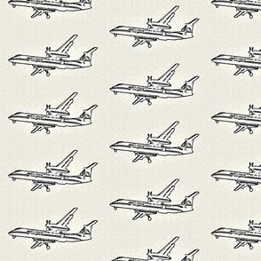 passenger plane -sketch