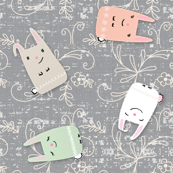 bunny scatter