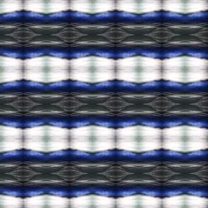 Shibori Chevron Waves - Horizontal Stripes